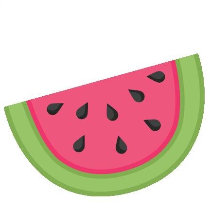 Cute Watermelon Clipart Watermelon SVG scrapbo...