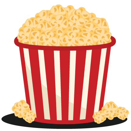 Popcorn Bucket SVG scrapbook cut file cute clipart files ...