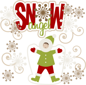 Snow Angel SVG