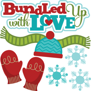 Bundled Up With Love SVG
