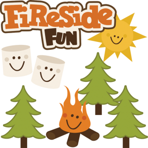 Fireside Fun SVG