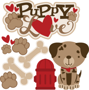 Puppy Love SVG
