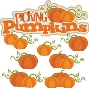 Picking Pumpkins SVG