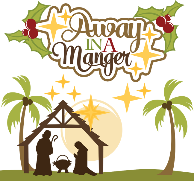 Away In A Manger SVG