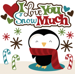 I Love You Snow Much SVG