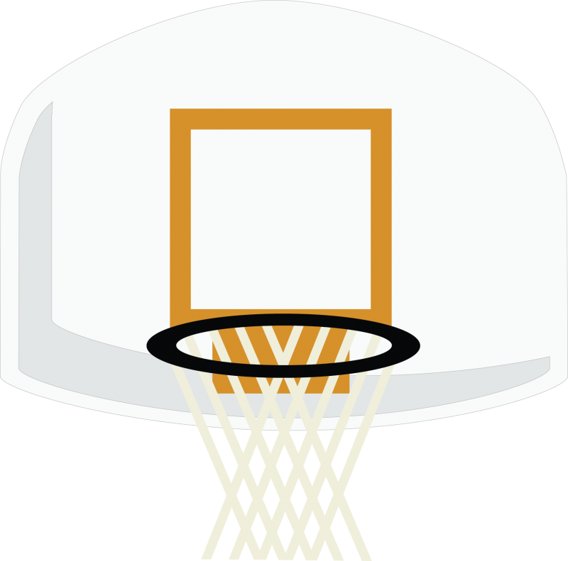 Gallery For > Basketball Backboard Clipart