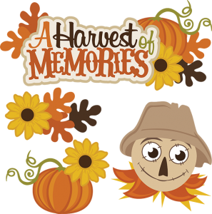A Harvest Of Memories SVG