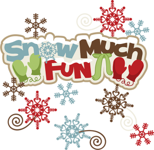 Snow Much Fun SVG