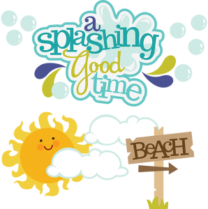 A Splashing Good Time SVG