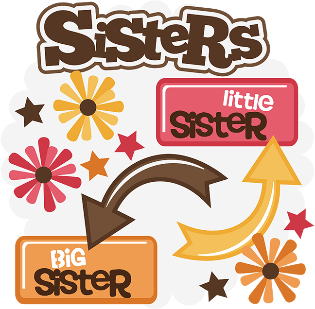 clipart of sisters - photo #5