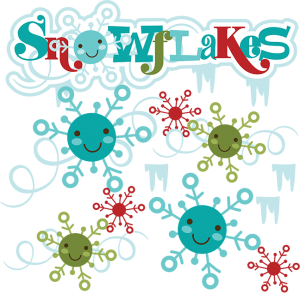 Snowflakes SVG