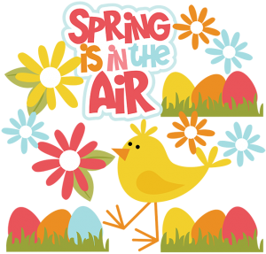 Spring Is In The Air SVG