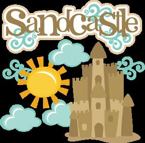 Sandcastle SVG