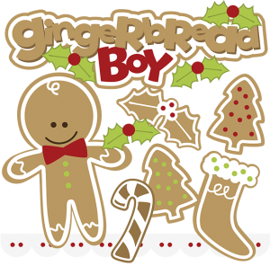 Gingerbread Boy SVG