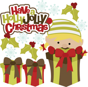 Have A Holly Jolly Christmas SVG christmas clipart cute clip art free svg