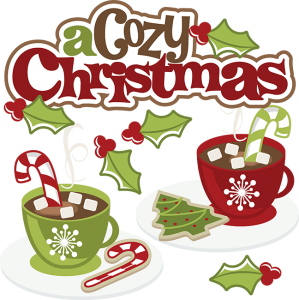 A Cozy Christmas SVG cute christmas clipart christmas svg christmas clip art