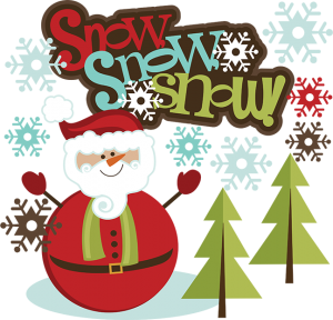 Snow SVG Santa Snowman SVG Santa Snowman Scrapbook SVG Santa Snowman Clipart