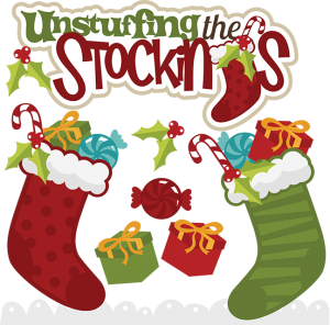 Unstuffing The Stockings SVG christmas stockings svg christmas stockings clipart cute clip art