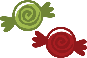Christmas Peppermints SVG File