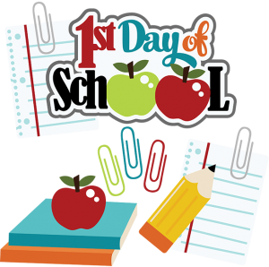 1st Day Of School SVG school svg file cute school clipart pencil svg book svg