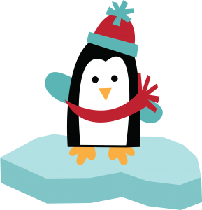 Free SVG of the Day Penguin On Ice free penguin clipart free clip art cute clip art snow svg
