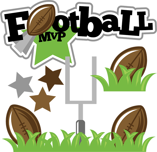 Football MVP SVG football svg file sports clipart cute ...