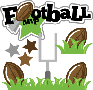 Football MVP SVG football svg file sports clipart cute clip art sports svg file