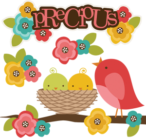 Precious SVG bird clipart bird svg cute clipart cute bird clipart