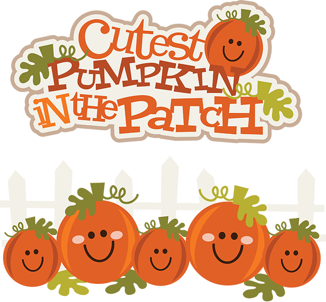 Cutest Pumpkin In The Patch SVG pumpkin clipart cute ...