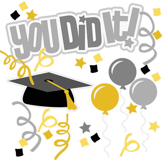 You Did It! SVG graduation svg file graduation clipart ...
