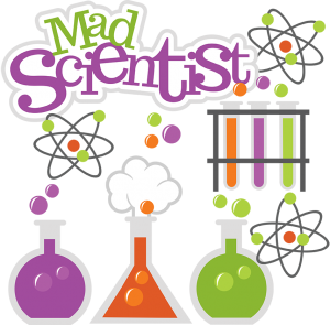 Mad Scientist SVG science svg beaker svg test tubes svg file atom svg file cute clipart science project scrapbooking
