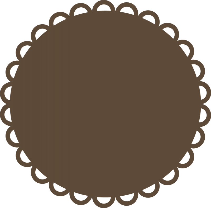 Scalloped Circle Svg Images