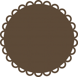 Circle Scallop SVG file svg files for scrapbooking cute svg files