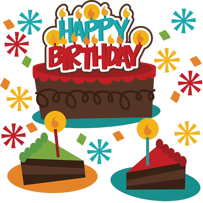 Happy Birthday SVG Birthday Cake Svg File Birthday Girl