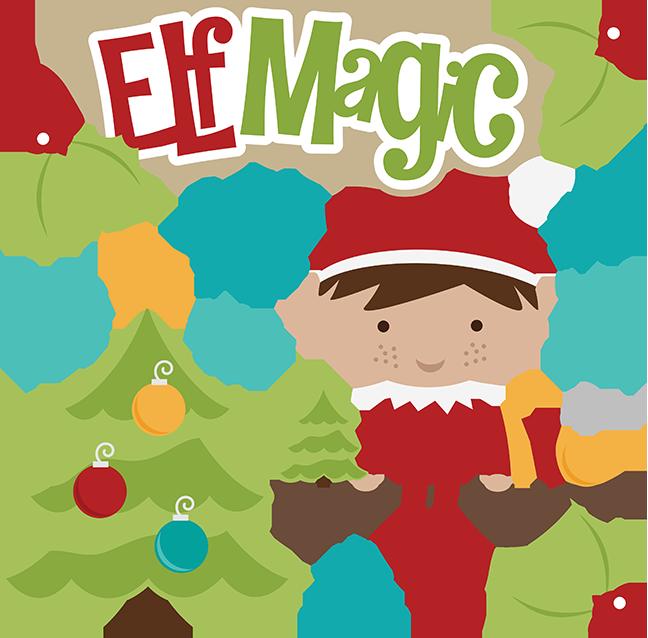 Elf Magic SVG christmas svg files elf svg file svg file free svgs svg ...