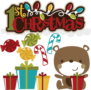 1st Christmas SVG christmas svgs teddy bear svg file svg files for scrapbooking candy cane svg