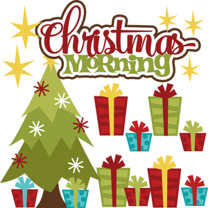 Christmas Morning SVG christmas svgs svg files for scrapbooking cutting files for scrapbooking cute clipart