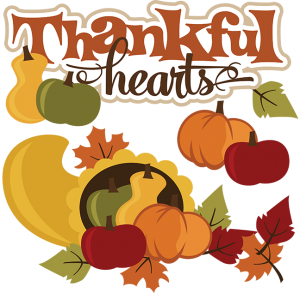 Thankful Hearts SVG thanksgiving svg file cornucopia svg file svg files for scrapbooking