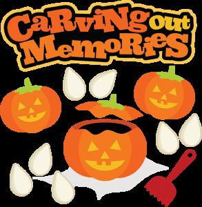 Carving Out Memories SVG halloween svg file pumpkin svg file jack o lantern svg file
