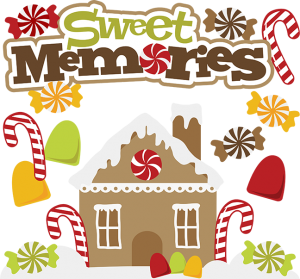 Sweet Memories SVG gingerbread house svg file christmas svg files gingerbread scrapb0ok cutting files