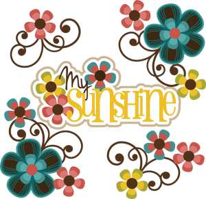 My Sunshine SVG girl svg files svg files for scrapbooking cutting files for scrapbooking free svgs