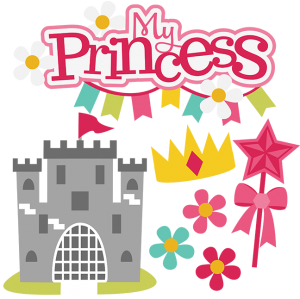 My Princess SVG princess cutting files for scrapbooking svg files for scrapbooks free svg files