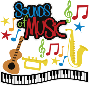 Sounds Of Music SVG musical instruments svg files music trumpet svg file saxaphone svg file