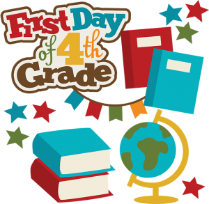 First Day Of 4rd Grade SVG school svg collection school svg files for scrapbooking