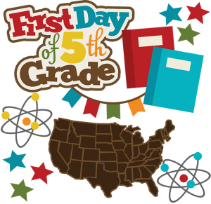 First Day Of 5th Grade SVG school svg collection school svg files for scrapbooking