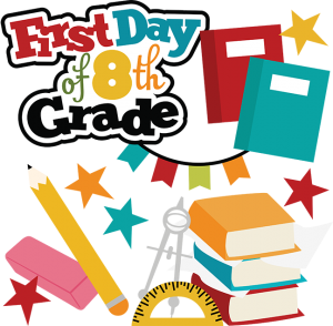 First Day Of 8th Grade SVG school svg files for scrapbooking free svg files