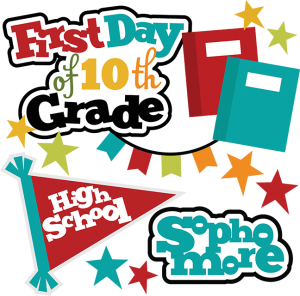 First Day Of 10th Grade SVG school svg files for scrapbooking free svg files