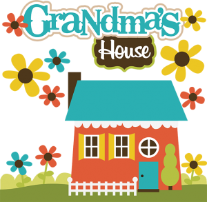 Grandma's House SVG Collection svg files for scrapbooking grandma's house svg file