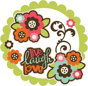 Live Laugh Love SVG Collection flower svg files for scrapbooking swirl svg files for scrapbooking