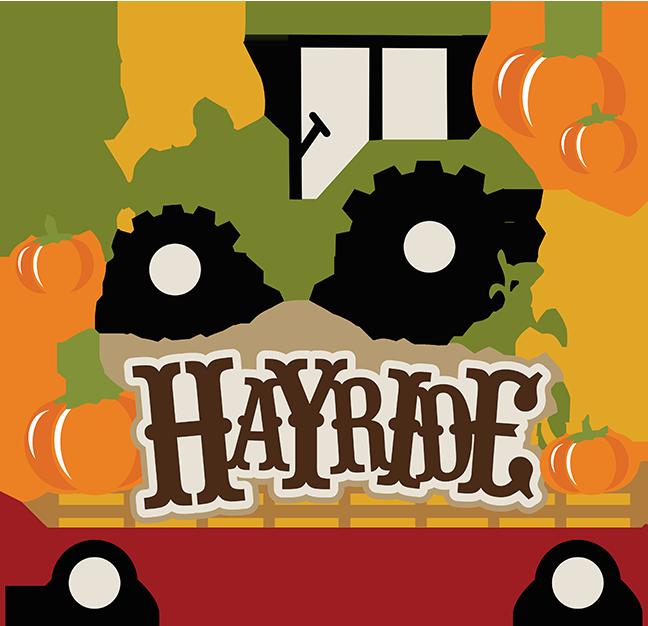 Hayride SVG autumn svg files for scrapbooking hayride svg ...